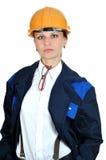 Young Engineer Girl Stock Photography