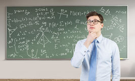 Young engineer in making Stock Image