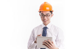 Young engineer Stock Images