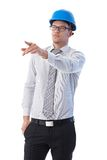 Young engineer working Royalty Free Stock Photos