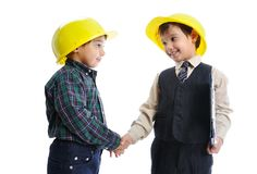 Young engineers Royalty Free Stock Image