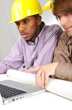 Young engineers Stock Image