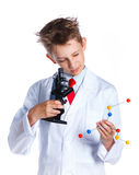 Young enthusiastic Chemist Royalty Free Stock Photo