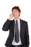 Young entrepreneur talking on phone Royalty Free Stock Photo