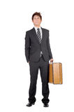Young entrepreneur traveling Royalty Free Stock Photo