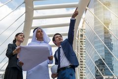 Young entrepreneurs discussing business project. Potentials Royalty Free Stock Photo