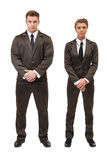 Young entrepreneurs posing with folded arms Royalty Free Stock Photos