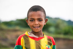 Young ethiopian boy Royalty Free Stock Photography