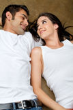 Young ethnic couple in love Stock Image