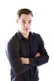 Young european businessman Stock Image