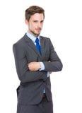 Young European businessman Royalty Free Stock Photos
