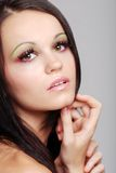 Young european fashion model Stock Images