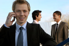 Young executive Royalty Free Stock Photo