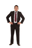 Young executive posing fullbody Royalty Free Stock Photography