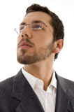Young executive wearing spectacles Royalty Free Stock Image