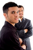 Young Executives Posing With Crossed Arms Stock Images