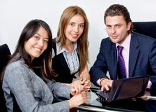 Young executives working Royalty Free Stock Photo