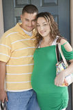 Young Expectant Couple stock image
