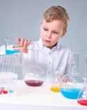 Young experimentalist Royalty Free Stock Photography