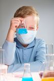 Young experimentalist Stock Photos