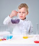 Young experimentalist Stock Photo