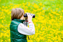 Young explorer stock photos