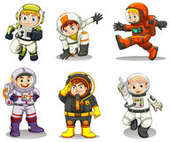 Young explorers Stock Image