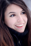 Young expressive woman Royalty Free Stock Images