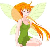 Young fairy royalty free illustration