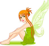 Young fairy Stock Image