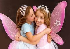 Young fairy queens Stock Photos
