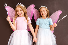 Young fairy queens Royalty Free Stock Photography