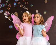 Young fairy queens Stock Images
