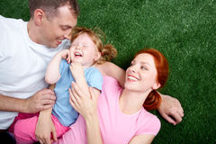 Young family Royalty Free Stock Images