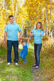 Young family Stock Images