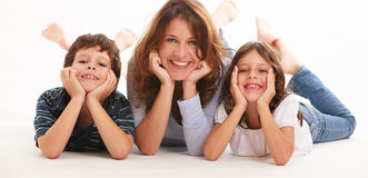 Young Family Royalty Free Stock Photos