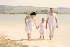 Young family Royalty Free Stock Photography