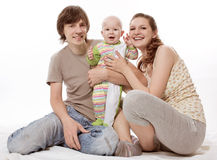 Young family Royalty Free Stock Photo