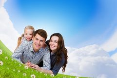 Young family Stock Photography