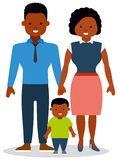 A young family with small child. Royalty Free Stock Photos