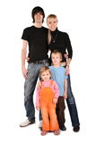 Young family together Stock Photo