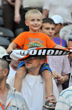 Young fan of Shakhtar Royalty Free Stock Photography