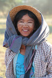 Young farmer in Bagan country Royalty Free Stock Images