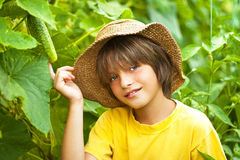 Young farmer Royalty Free Stock Image