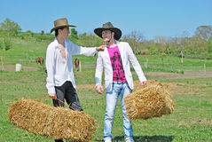 Young farmers Royalty Free Stock Photography