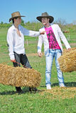 Young farmers Stock Photography