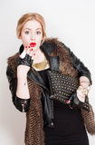 Young fashion. Royalty Free Stock Photo