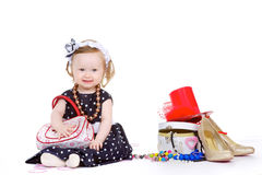 Young fashion-conscious girl Royalty Free Stock Image