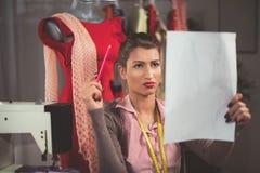 Young Fashion Designer At Work Royalty Free Stock Photos