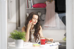 Young fashion designer Stock Photography